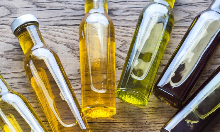 Elije un aceite de cocina para us recetas